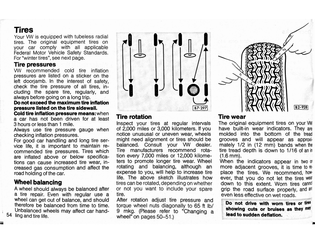 1979 Volkswagen Rabbit Owners Manual_page_60 on 1981 Volkswagen Rabbit Diagram